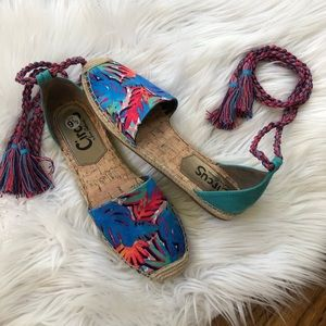 Circus by Sam Edelman Shoes - NEW Circus by Sam Edelman Lace Up EspadrilleSandal